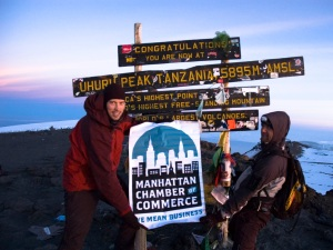 ManhattanCC on Kili Summit