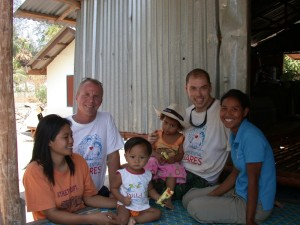 thai family post-Tsunami recovery